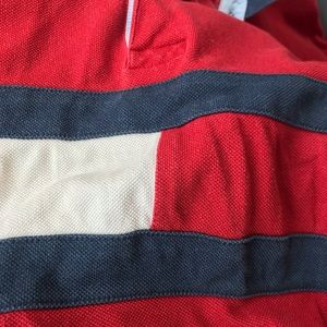 Tommy Hilfiger Tops - Red Tommy Long Sleeve